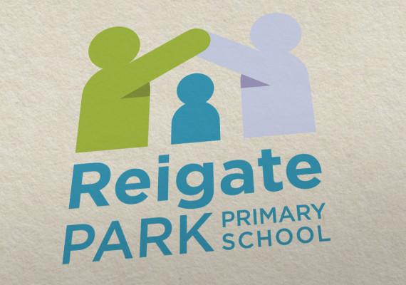 Reigate Park School branding