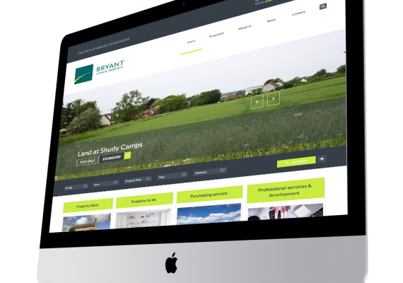 Bryant Land & Property website