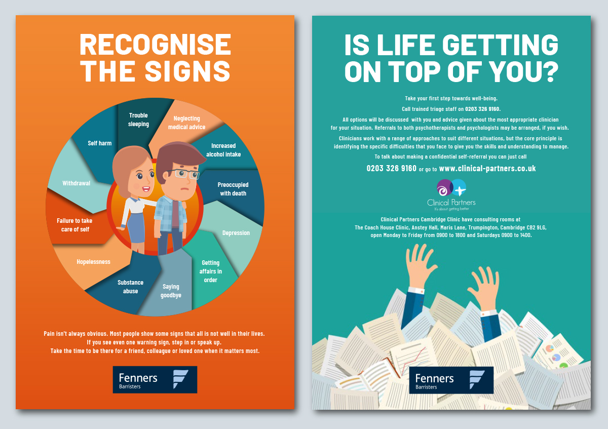 Fenners well-being posters